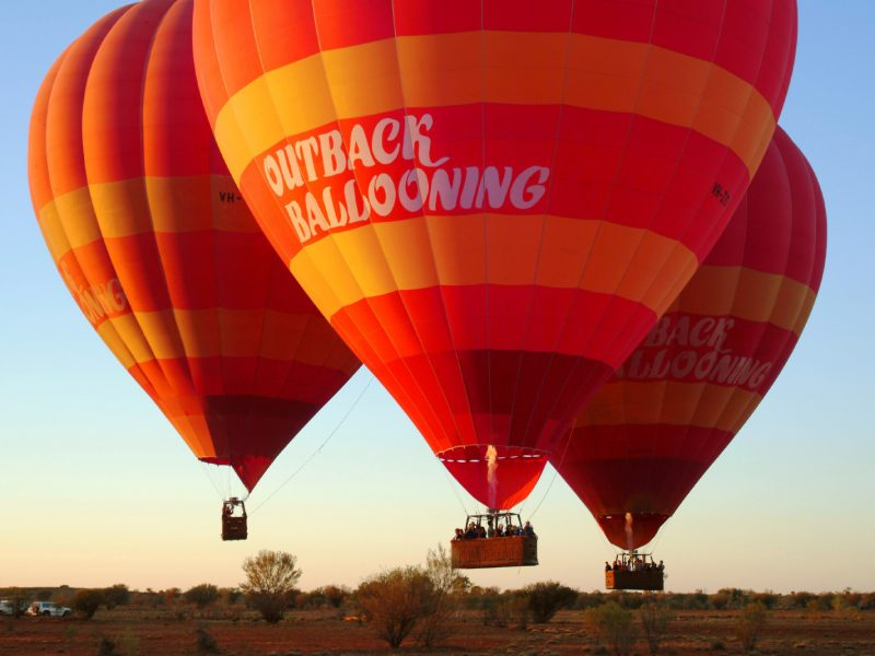 Outback Ballooning - Close up 2
